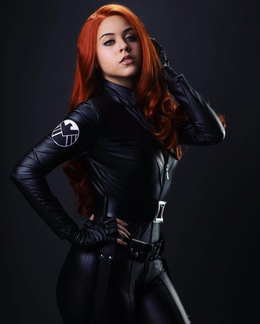 A little Black Widow to kick your weekend off the...