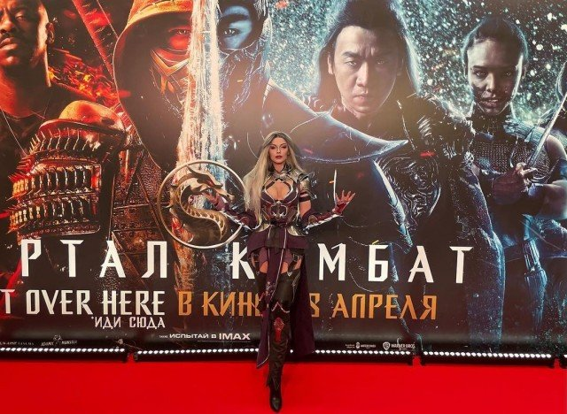 @mortalkombatmovie is here!⠀ I love the first movie very much....