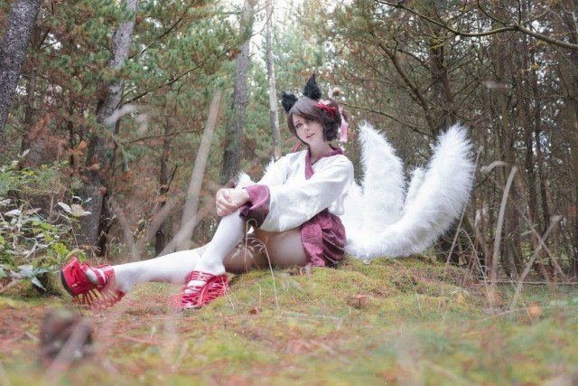 🥰new dynasty ahri picture 🥰📸@ben_i_images #pictureoftheday #photography #miumoonlight #cosplay #dynastyahri...