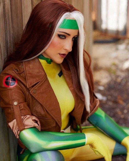 Just thinkin 'bout Gambit 💚💛🤎🤍Pc: @rlbphotos Costume from my love...