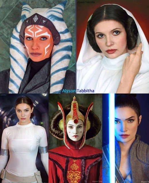MAY THE 4th BE WITH YOU! 🪐👽🌠❤️ #StarWarsDayHere is a...