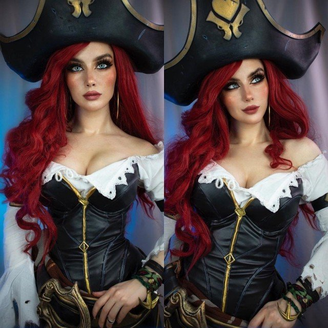 fun fact - I can't swim 🌊But Miss Fortune can!:)...