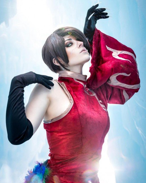 Good evening everyone 😁 lots of cosplays lined up for me right now that I'm super exited about. I won't be very active for about a week because I'll be on vacation, so here's some wonderful cinder 🥰 don't forget to drink water and eat some food you deserve it! - - 📸: @ssnwwc - - - Character: Cinder falls fandom: RWBY - - Outfit: made by myself! Contact lenses: @honeycolor_official Wig: @ardawigs (blue Steele Classic: deep brown) - - - - #rwby #rwbycosplay #cinderfalls #cinderfall #cinderfallcosplay #roosterteeth #cosplay #cosplayer #utahcosplay #rwbycinder #cosplaygirl #cosplayersofinstagram #handmadecosplay