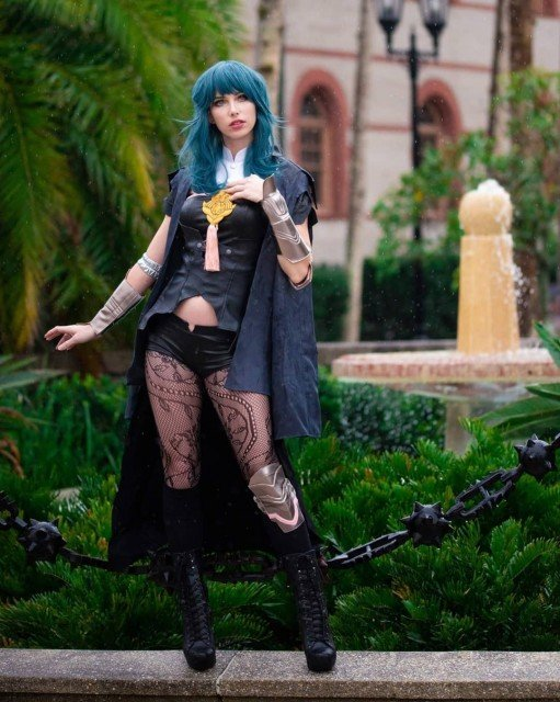 Byleth! (you can see the tiny raindrops! 🌦) . ph: @whiskey_foxx , edit by me, cos: @miccostumes