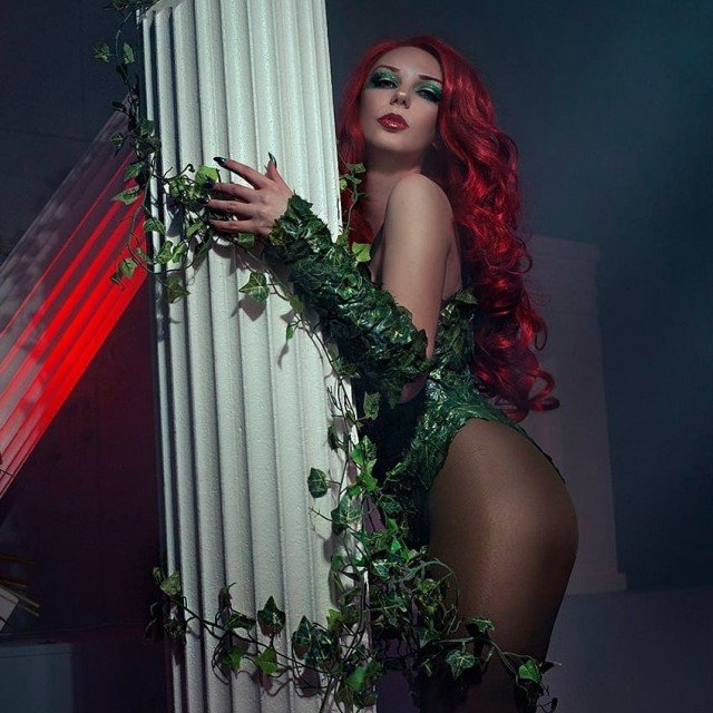 Photos with my Poison Ivy are available in my Etsy...