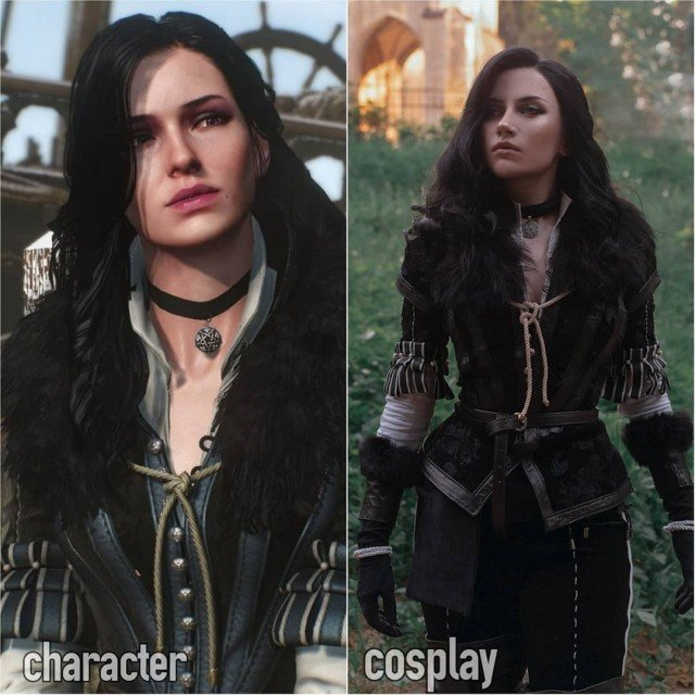 Yennefer of Vengerberg #cosplayvscharacterThat feeling when you found a character...