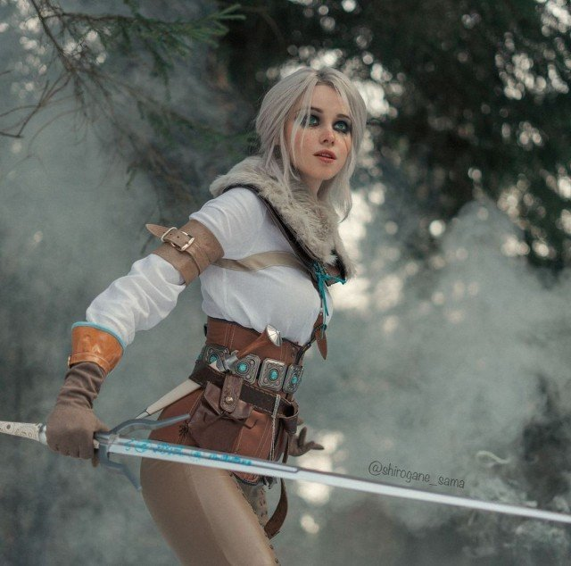 For all sweeties who asked me about new Ciri sets...