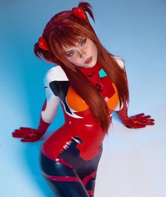 🔥ASUKA LANGLEY🔥 1 or 2?This MAIN PHOTOSHOOT is available for...
