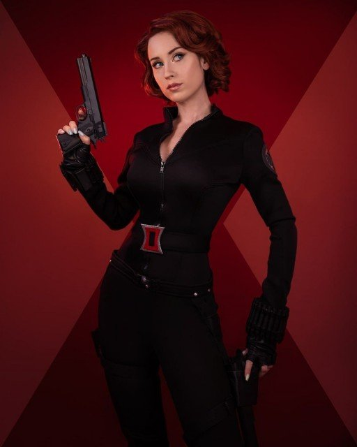 The first time I cosplayed Black Widow was back in...