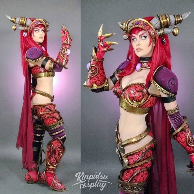 Alexstrasza from world of warcraft 🔥We finally did our photoshoot...