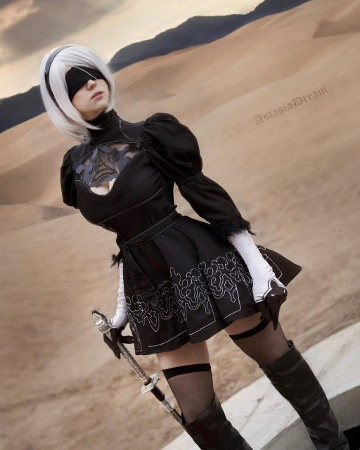 2B cosplay 🖤I'm not a professional cosplayer, but I'm really...
