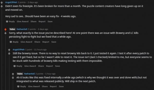 У работников Valve проблемы с памятью Порно вместо мэйджора деньги с Battle Pass и другие мы забыли