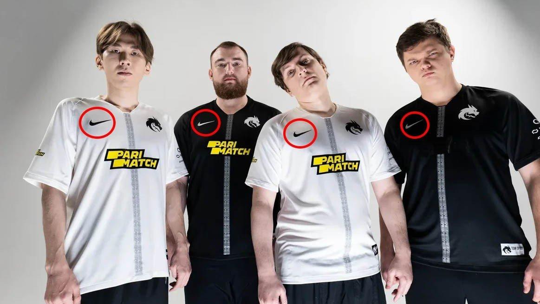 Nike стала новым партнером Team Spirit