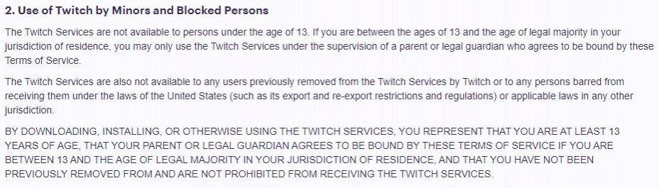Twitch может удалить каналы множества пользователей