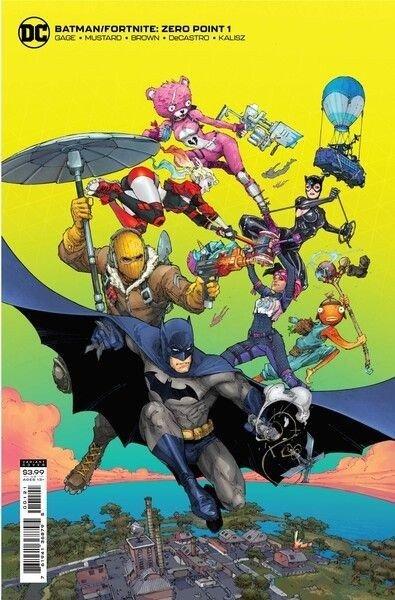 Epic Games вместе с DC Comics выпустят комиксы о Бэтмене