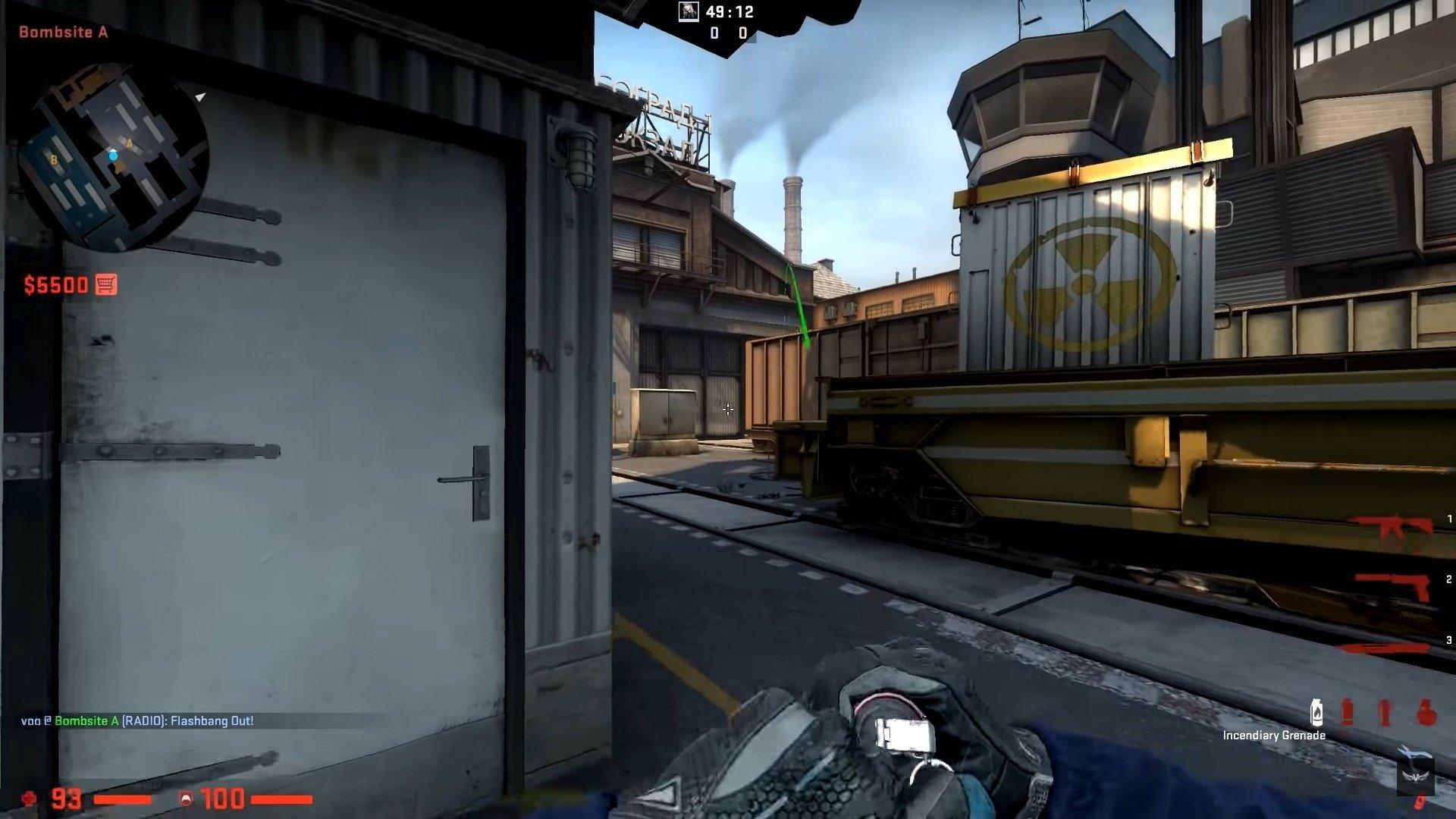 Топ7 гранат в CSGO на Inferno и Train для повышения уровня игры