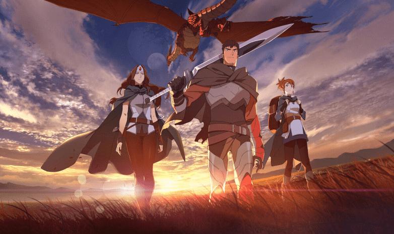 Как смотреть аниме по Дота 2 DOTA Dragons Blood бесплатно