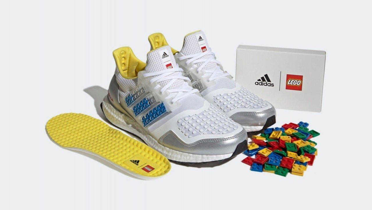 Adidas выпустила кроссовки в коллаборации с LEGO