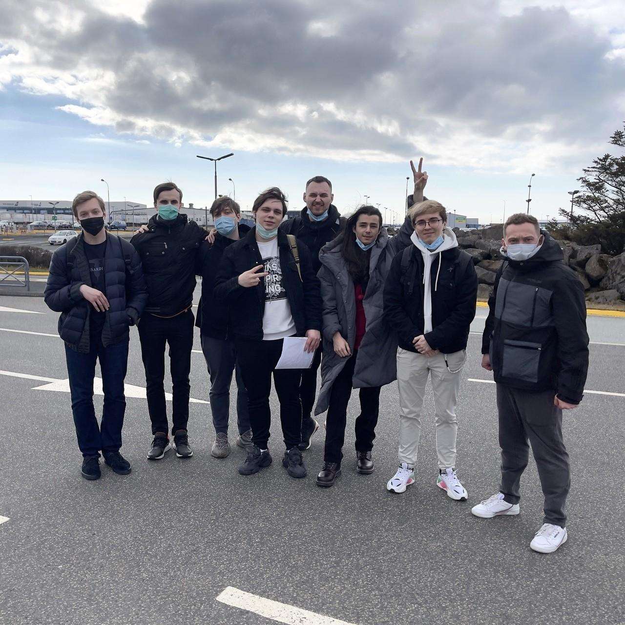 Unicorns of Love прилетела в Исландию и готова к карантину
