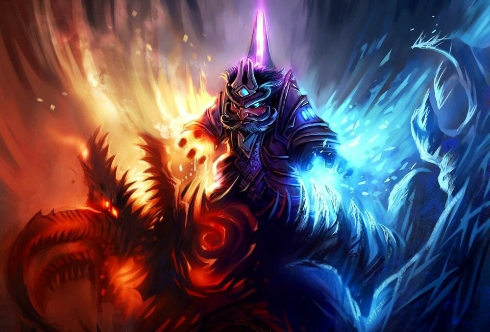 World of Warcraft Burning Crusade выбираем класс и профессии