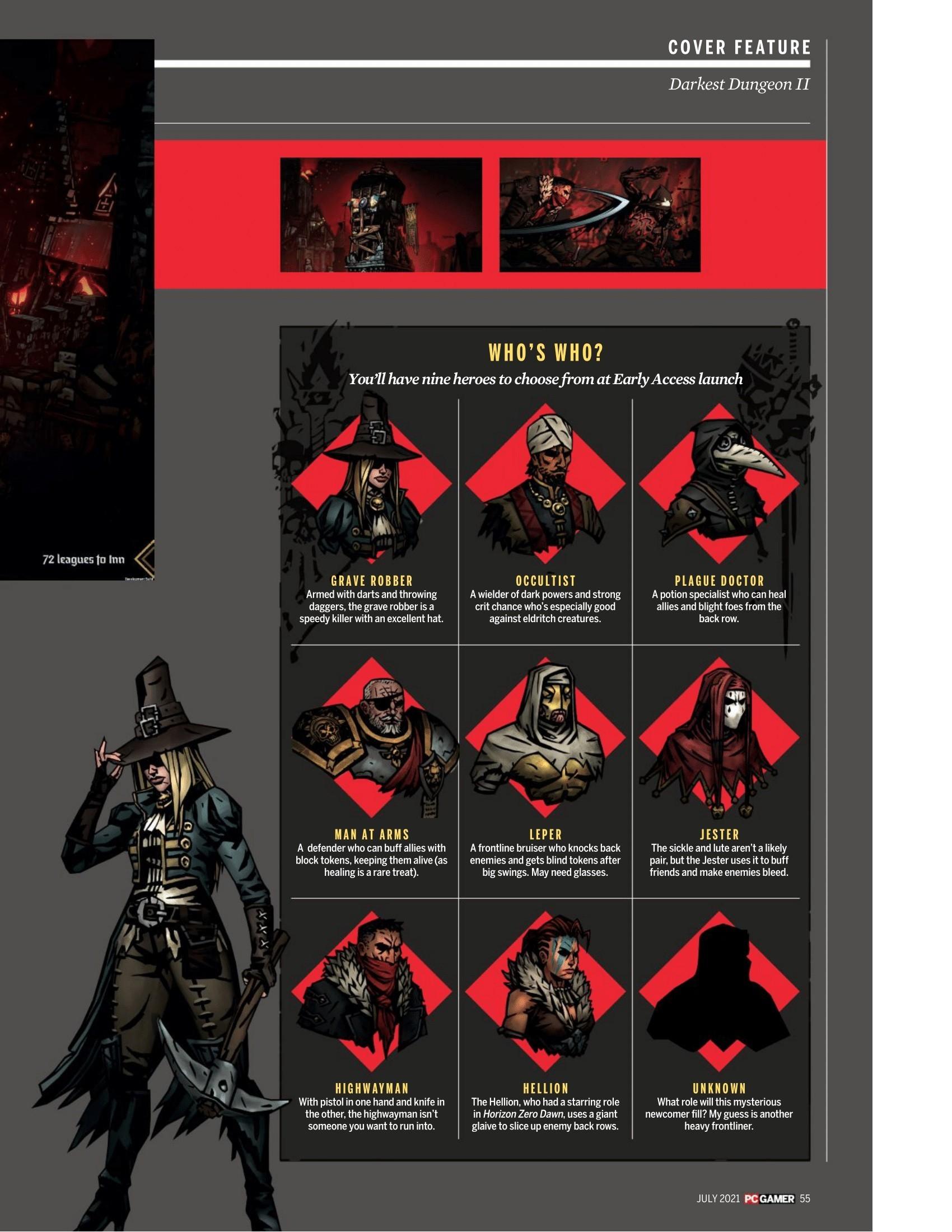 Разработчики анонсировали ранний доступ для Darkest Dungeon 2