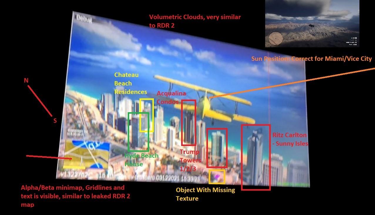 Скриншот из GTA 6 какие еще слухи ходят вокруг игры
