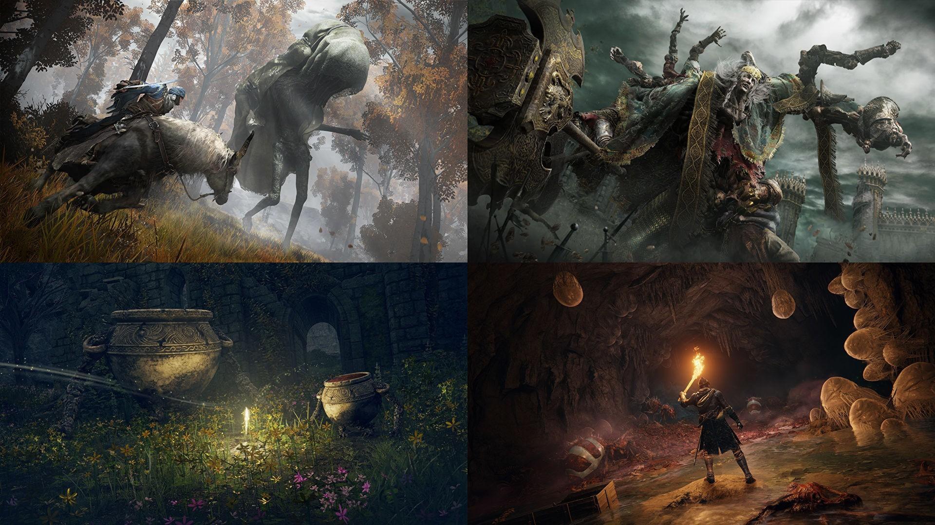 Передвижения на коне кооператив и узнаваемый стиль Dark Souls Какой будет Elden Ring