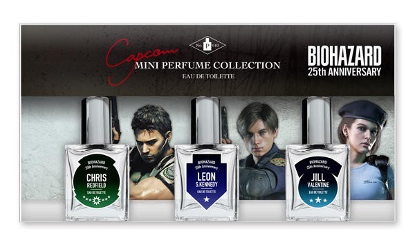 Появилась коллекция духов которая сделана по мотивам игр Resident Evil