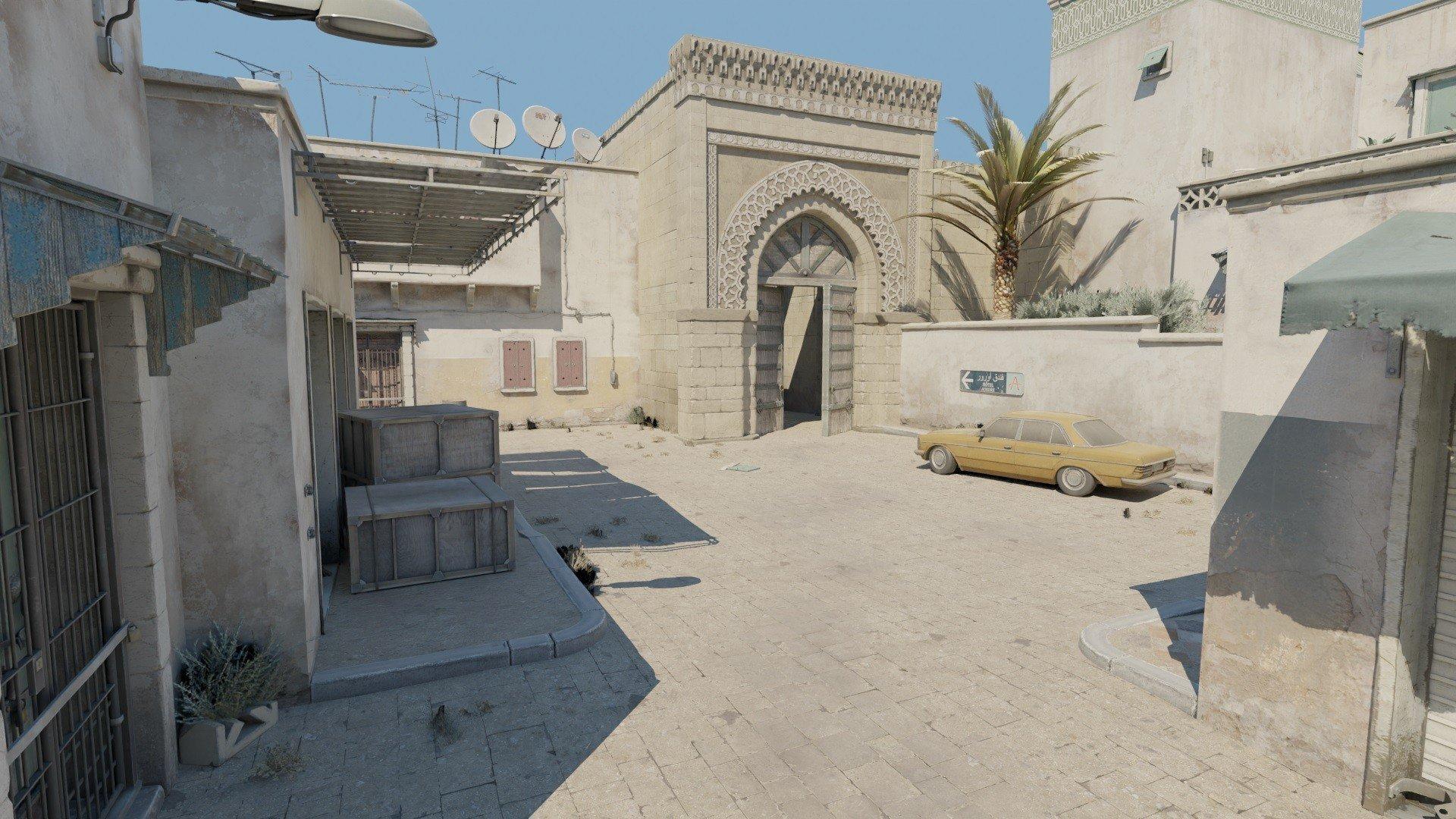Дизайнер показал, как могли бы выглядеть Mirage, Dust 2 и Office в новой версии CS:GO