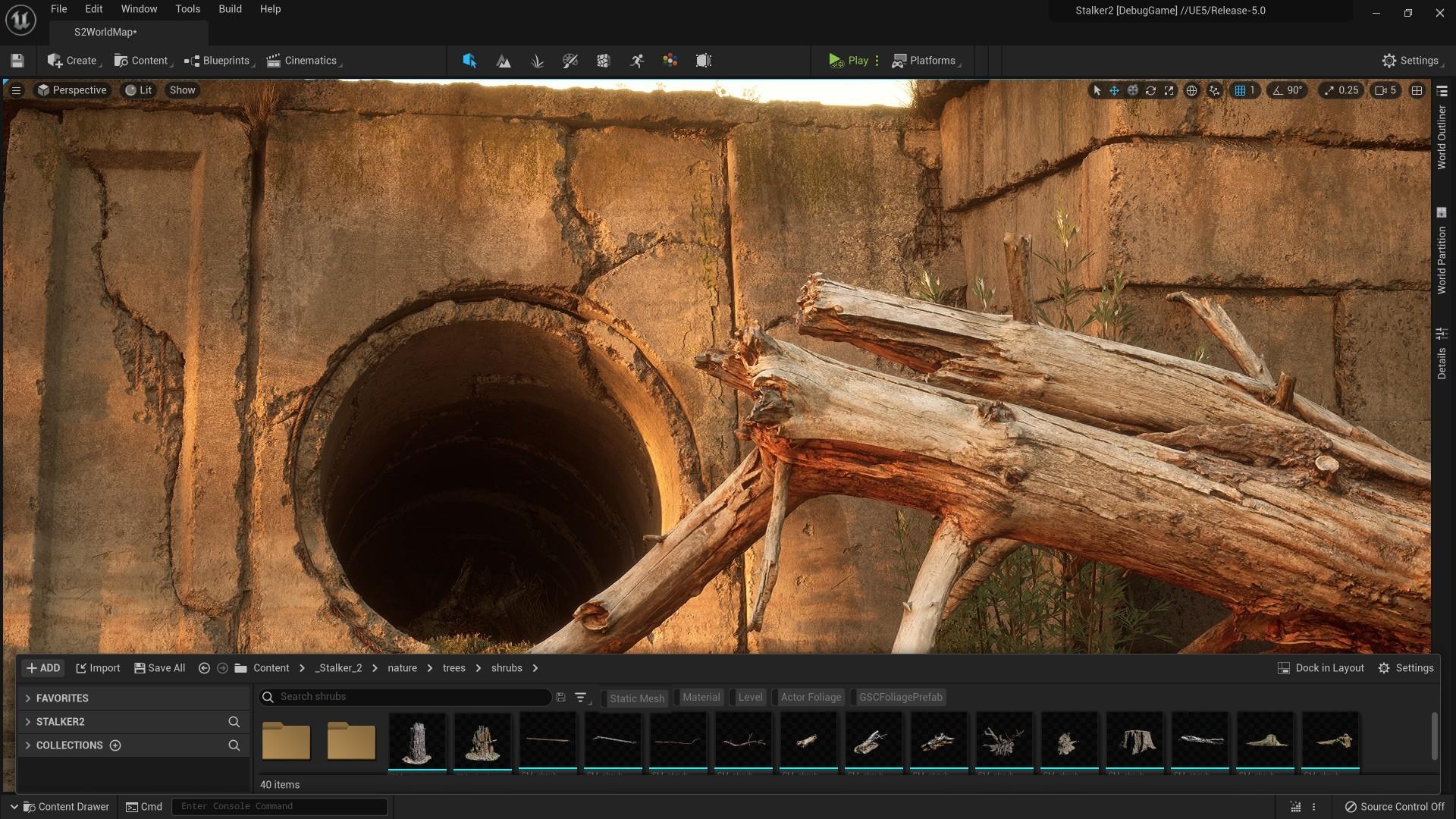 STALKER 2 будет одной из первых игр которая выйдет на Unreal Engine 5