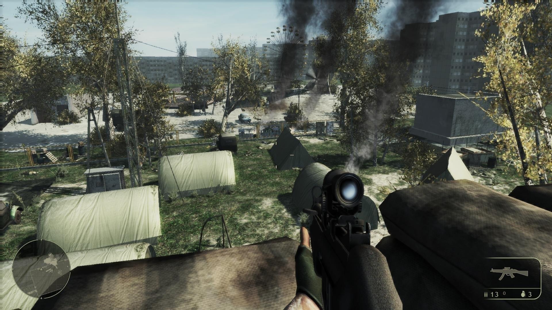 От Сталкера до Call of Duty 4 Игры в которых есть Чернобыль