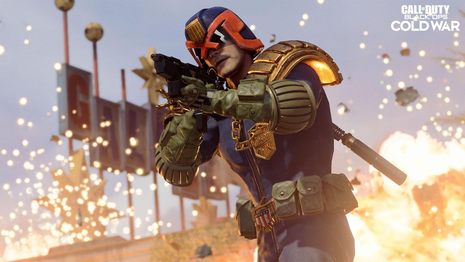 Судья Дредд появился в Call of Duty Warzone и Black Ops Cold War Я закон