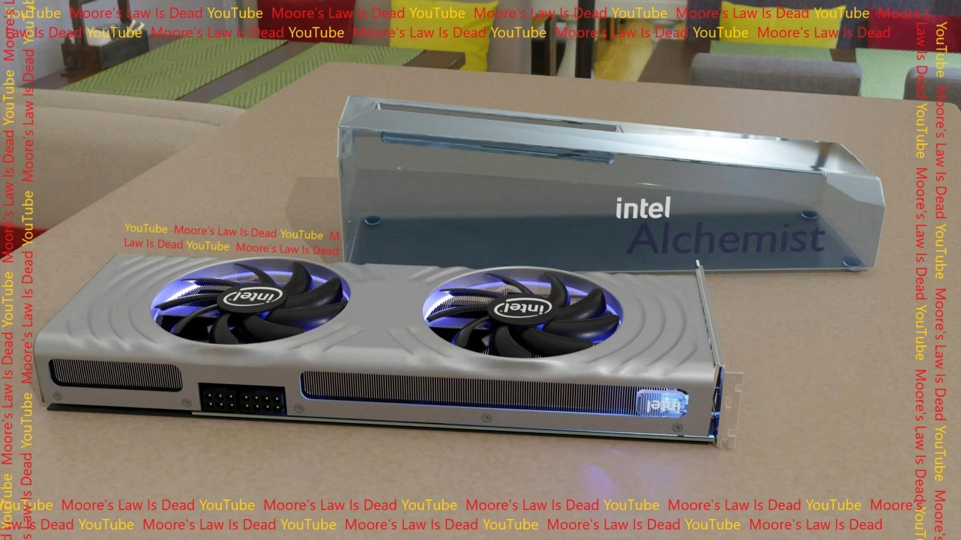 Ютубер показал как будет выглядеть игровая видеокарта от Intel