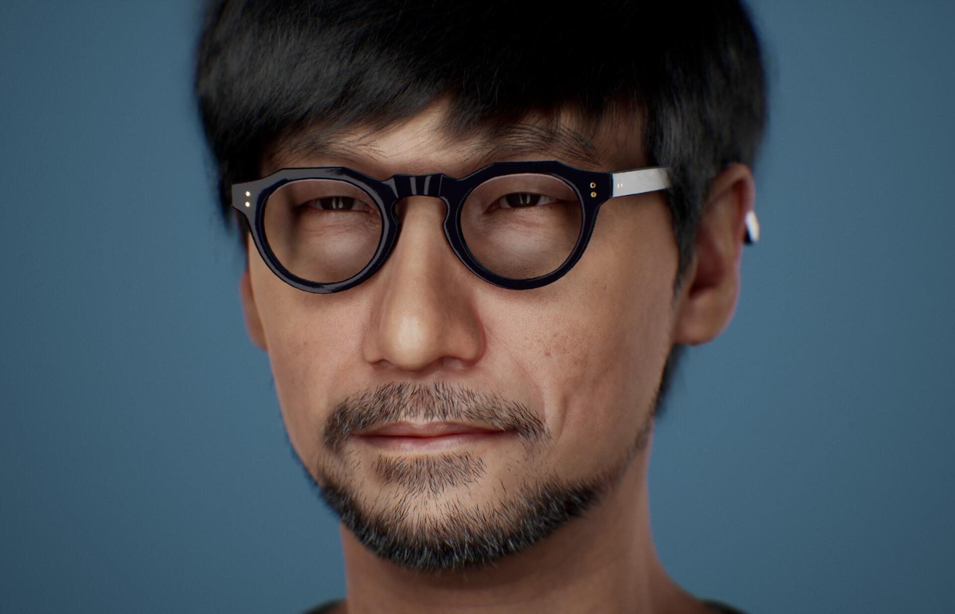 Как бы выглядел Хидео Кодзима на движке Unreal Engine 5