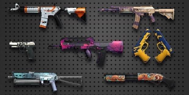 Скины CSGO типы и степень износа оружия StatTrak наклейки и сувениры контрабандные предметы и коллекции карт КСГО