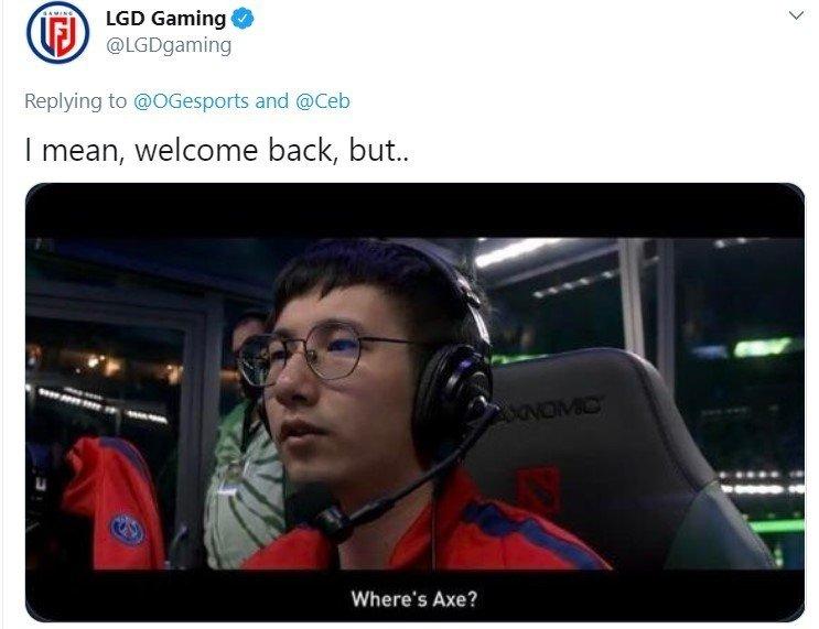 Ceb возвращается в OG мы собрали все мемы шутки и подколы