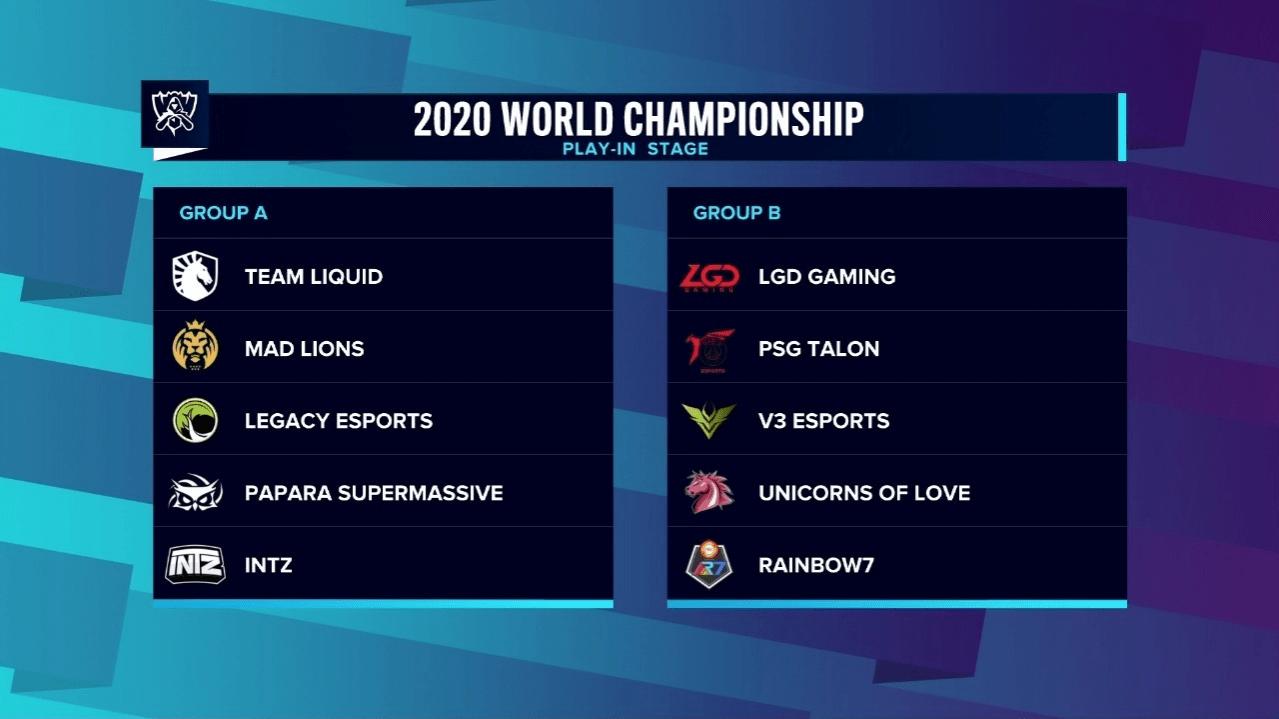 Результаты жеребьёвки чемпионата мира по League of Legends Чемпиону СНГ досталась слабая группа