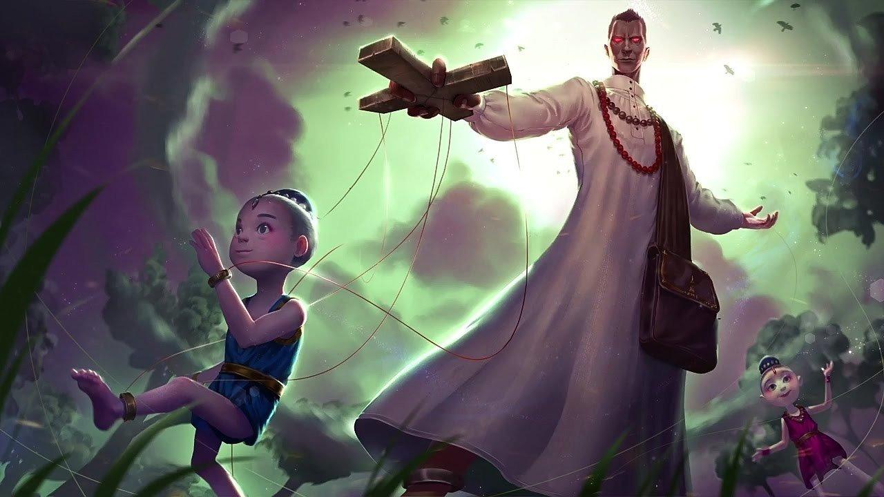 Всё что известно о новом герое в Dota 2 Puppet Master скиллы и роль персонажа