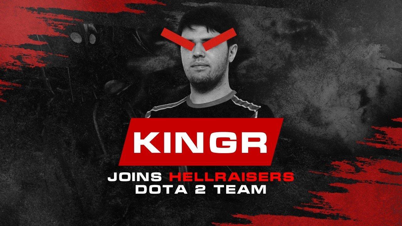 KingR официально присоединился к HellRaisers