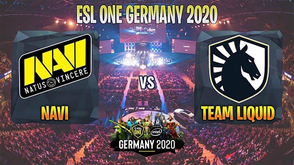 Natus Vincere сыграют с Team Liquid в грандфинале ESL One Germany 2020