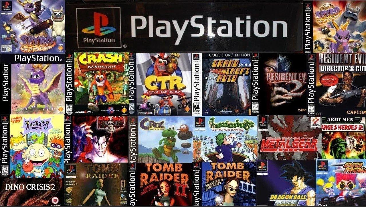 Топ5 игр на PlayStation 1 которые можно заново пройти на эмуляторе