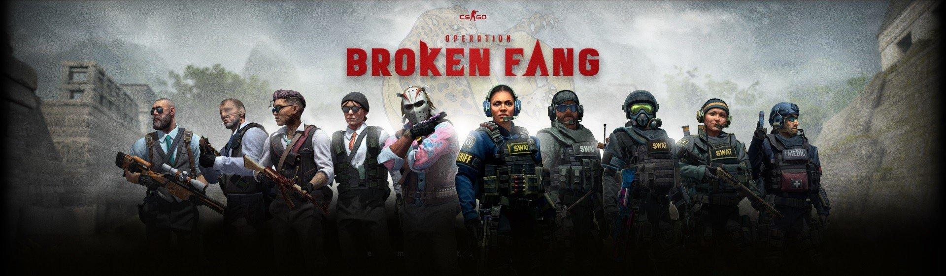 В CSGO вышла новая операция Broken Fang