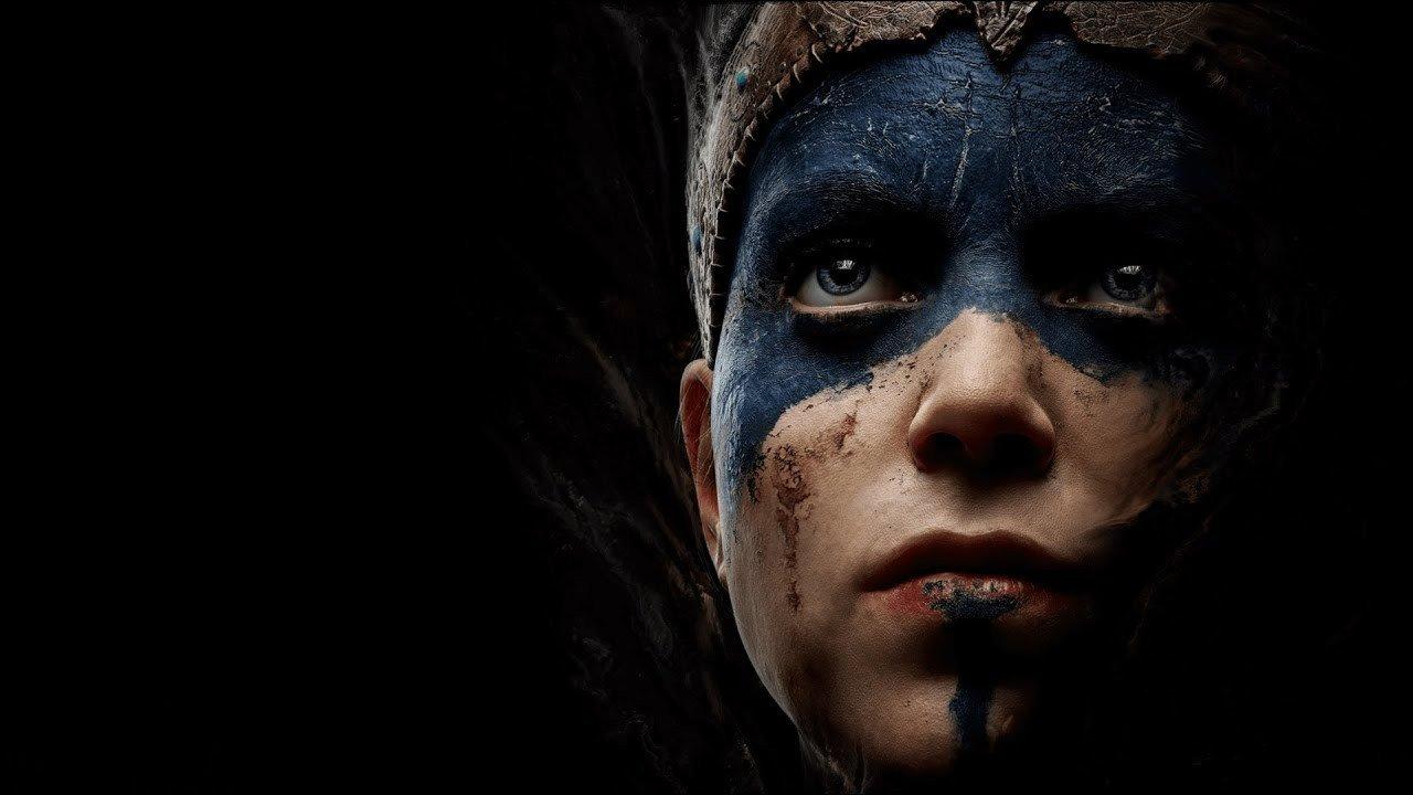 Обновленный макияж героини игры Senuas Saga Hellblade 2