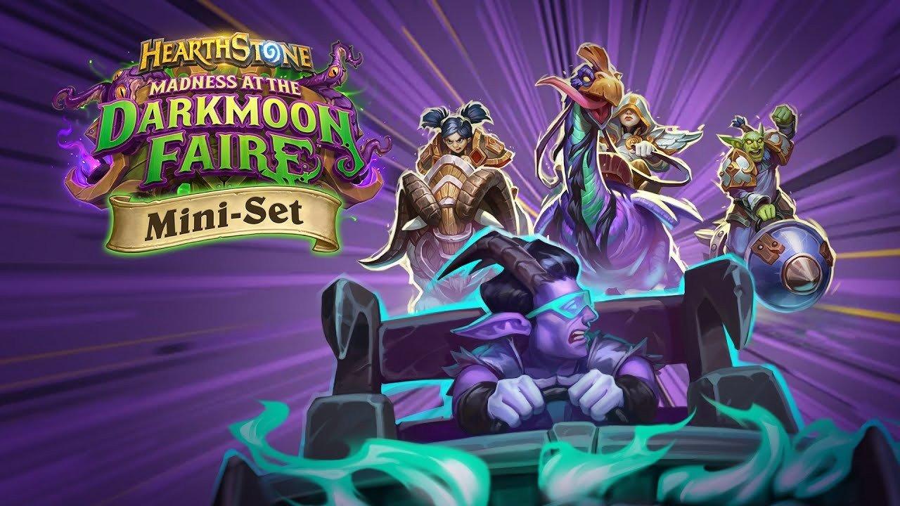 21 января в Hearthstone выйдет дополнение The Darkmoon Races