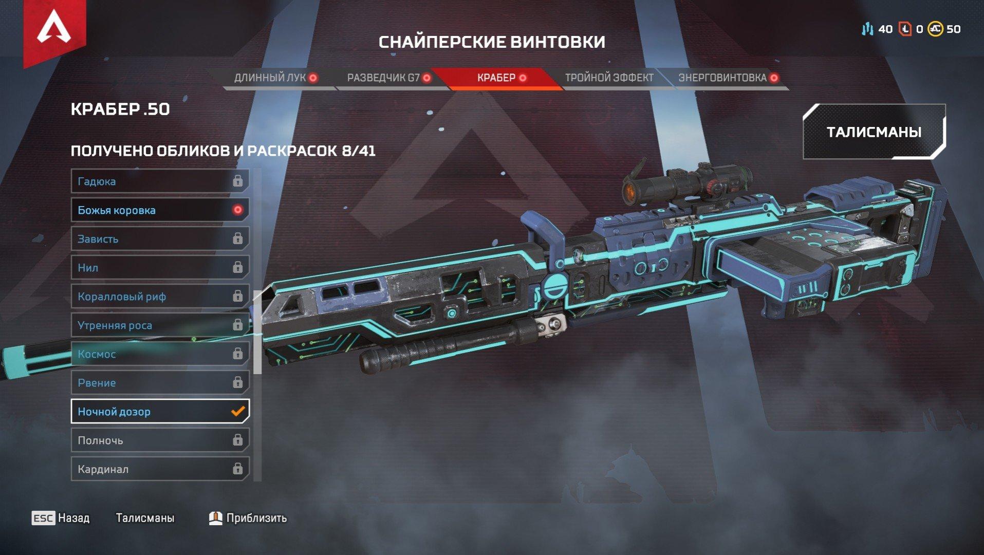 Лучшие снайперские винтовки в Apex Legends