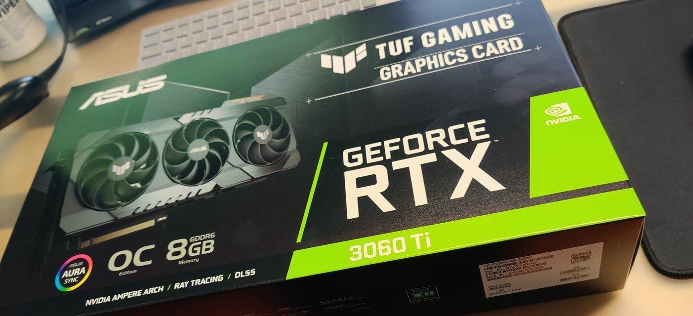 Люди уже перепродают Nvidia RTX 3060 более чем за 1000