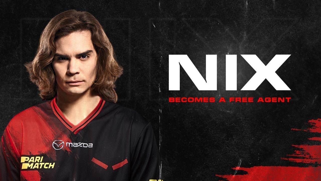 Nix официально покинул HellRaisers и стал свободным агентом
