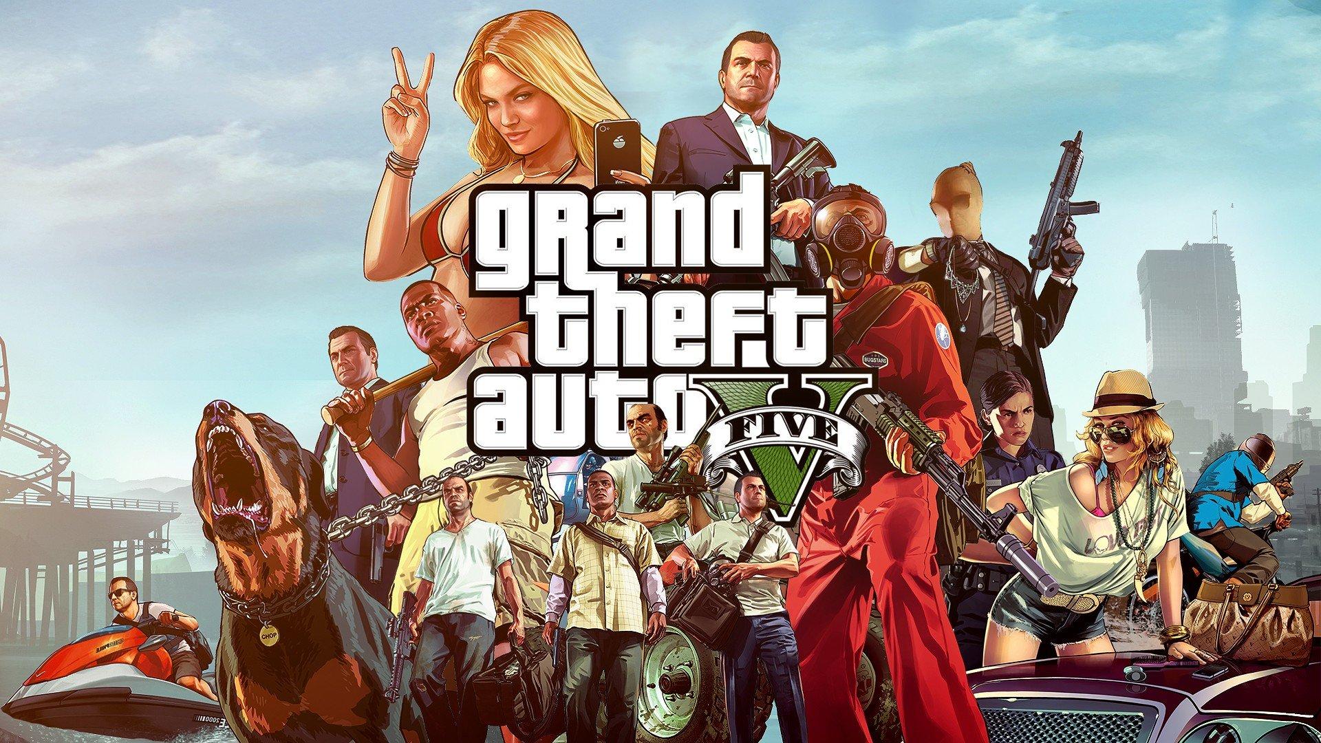 Глава TakeTwo GTA V не будет просто портом для PS5