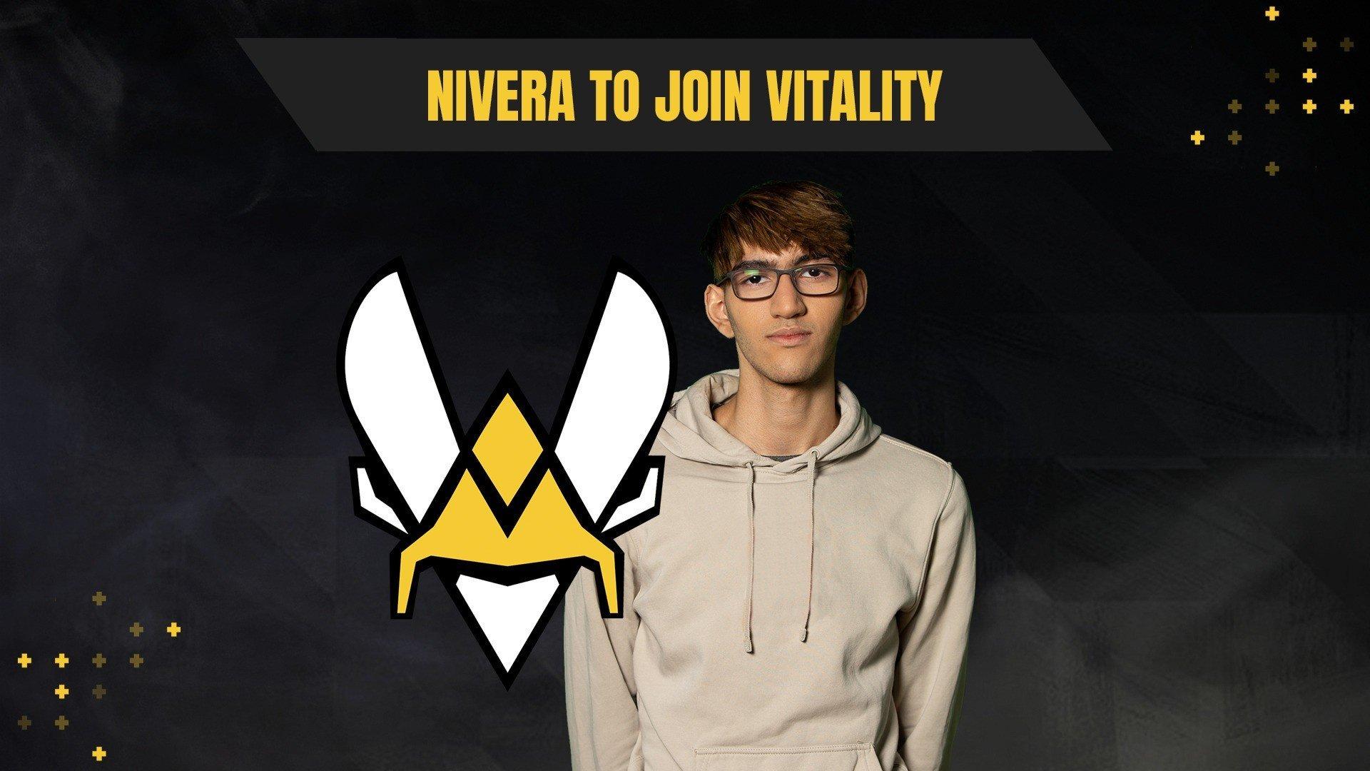 Слухи Team Vitality перевела Nivera в глубокий запас