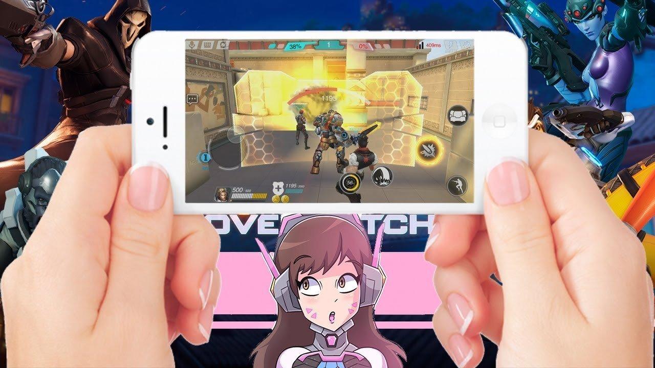 Слухи Overwatch может стать мобильной игрой